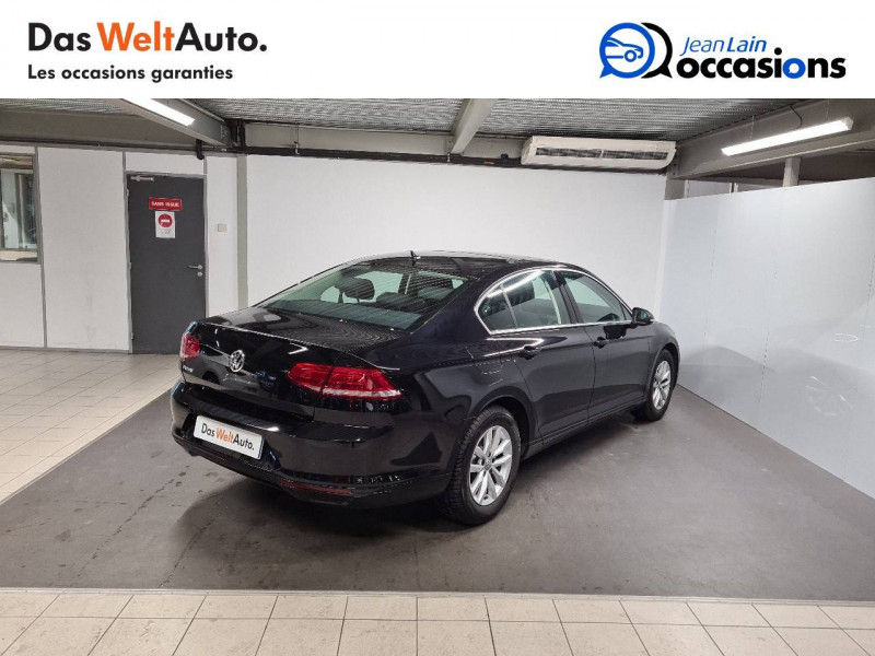 Volkswagen Passat VII Passat 1.6 TDI 120 DSG7 Confortline 4p Noir occasion à Seynod - photo n°5