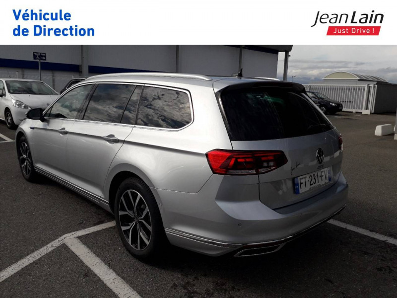 Volkswagen Passat VII Passat SW 1.4 TSI Hybride Rechargeable DSG6 GTE 5p Argent occasion à Ville-la-Grand - photo n°7