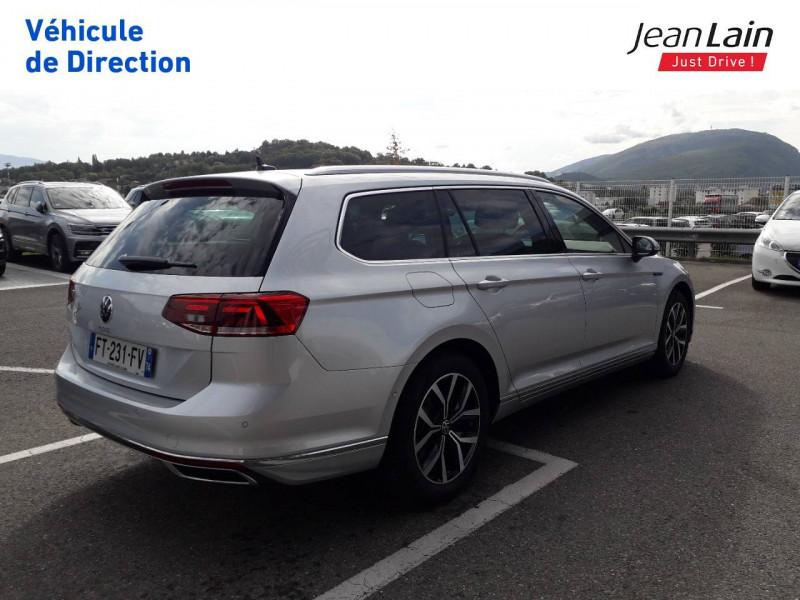 Volkswagen Passat VII Passat SW 1.4 TSI Hybride Rechargeable DSG6 GTE 5p Argent occasion à Ville-la-Grand - photo n°5