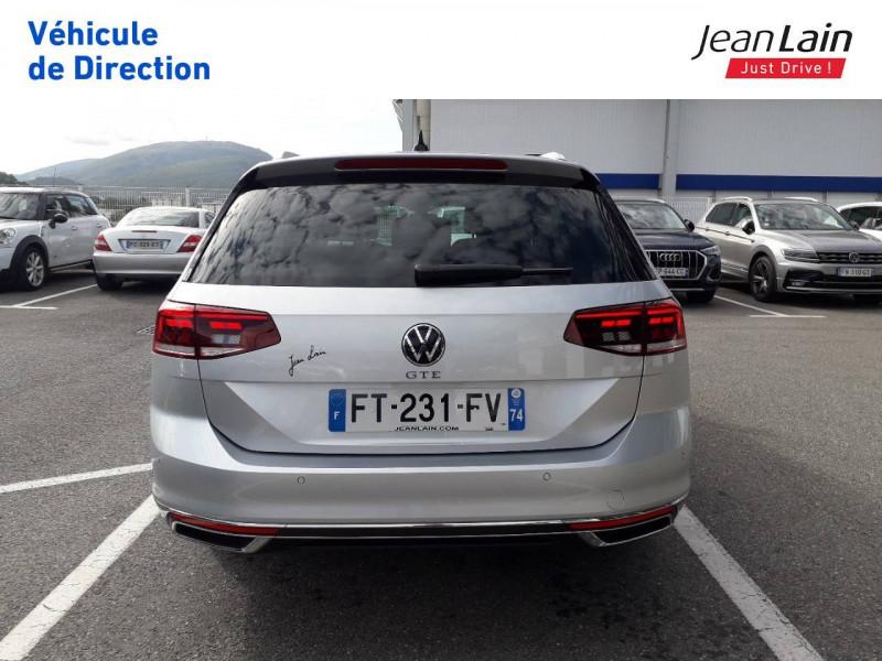 Volkswagen Passat VII Passat SW 1.4 TSI Hybride Rechargeable DSG6 GTE 5p Argent occasion à Ville-la-Grand - photo n°6