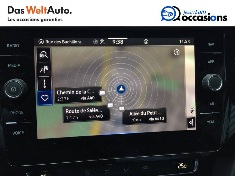 Volkswagen Passat VII Passat SW 1.6 TDI 120 DSG7 Business 5p Gris occasion à Annemasse - photo n°15