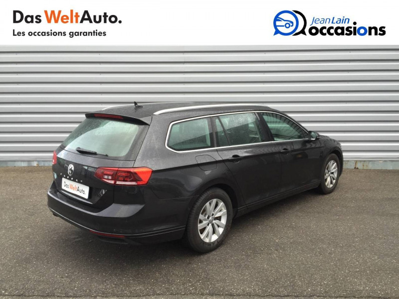 Volkswagen Passat VII Passat SW 1.6 TDI 120 DSG7 Business 5p Gris occasion à Annemasse - photo n°5