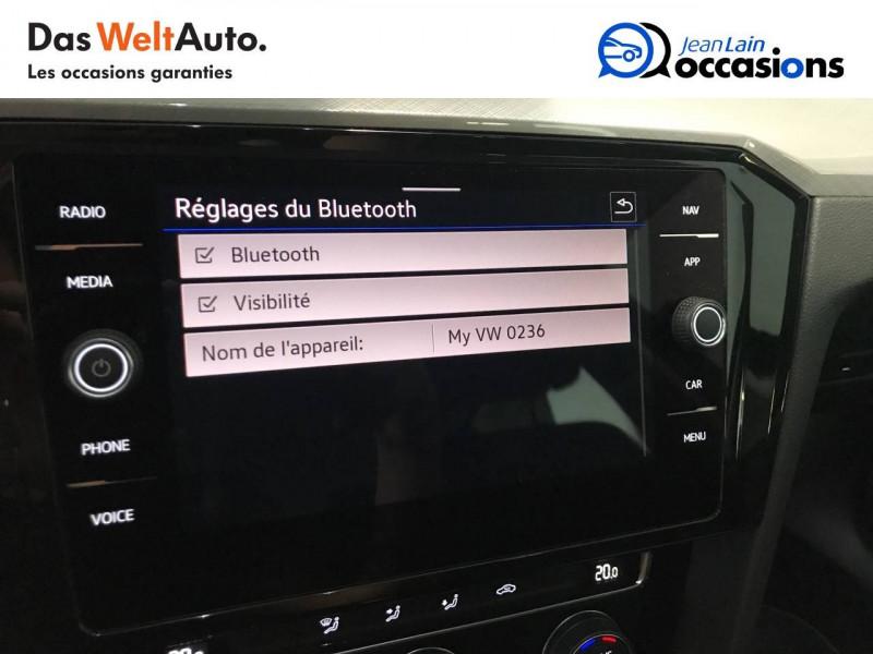 Volkswagen Passat VII Passat SW 1.6 TDI 120 DSG7 Business 5p Gris occasion à Meythet - photo n°16