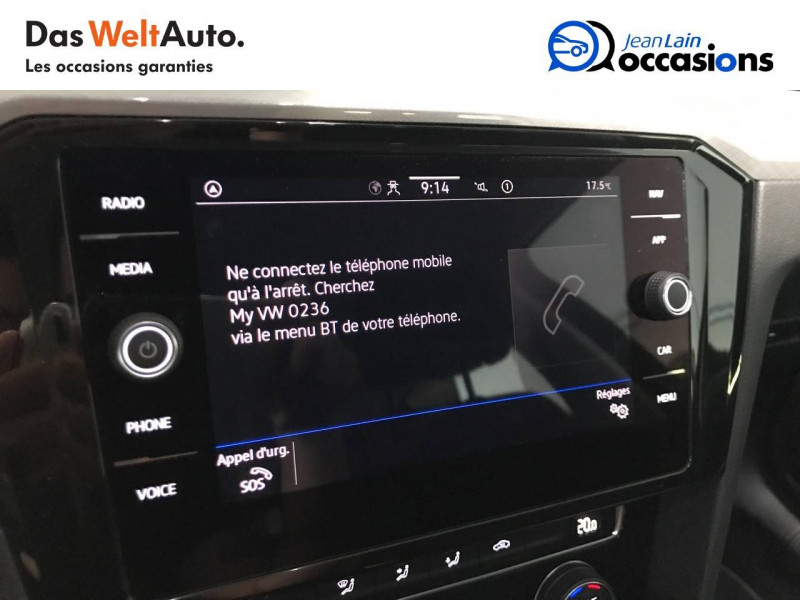 Volkswagen Passat VII Passat SW 1.6 TDI 120 DSG7 Business 5p Gris occasion à Seynod - photo n°16