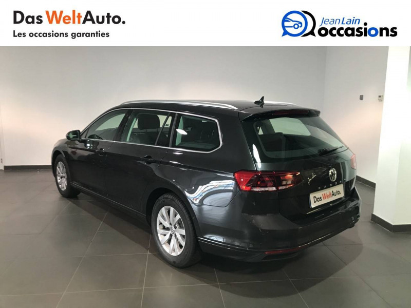 Volkswagen Passat VII Passat SW 1.6 TDI 120 DSG7 Business 5p Gris occasion à Seynod - photo n°7