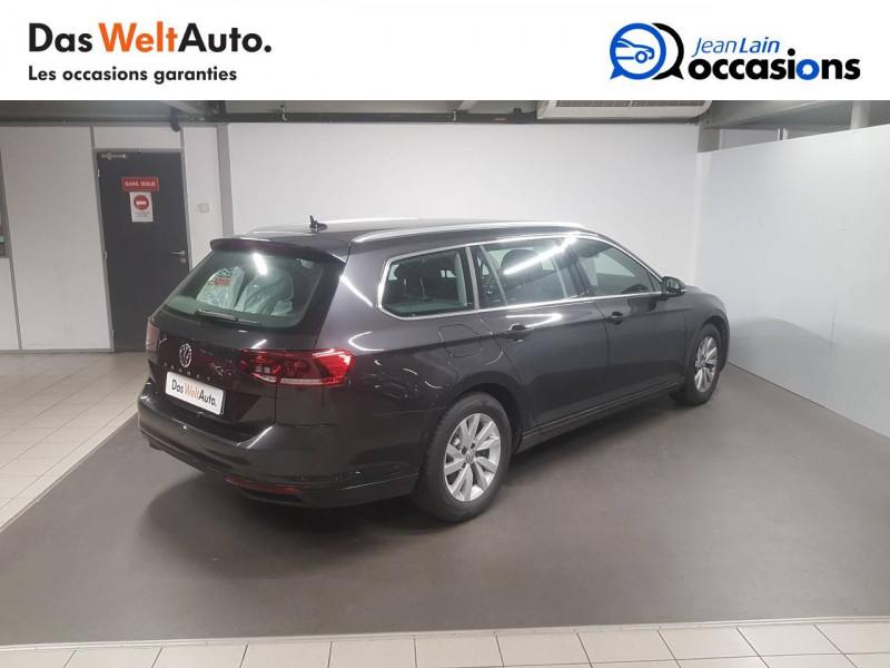 Volkswagen Passat VII Passat SW 1.6 TDI 120 DSG7 Business 5p Gris occasion à Voiron - photo n°5