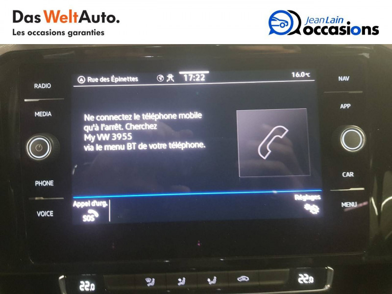 Volkswagen Passat VII Passat SW 1.6 TDI 120 DSG7 Business 5p Gris occasion à Voiron - photo n°16