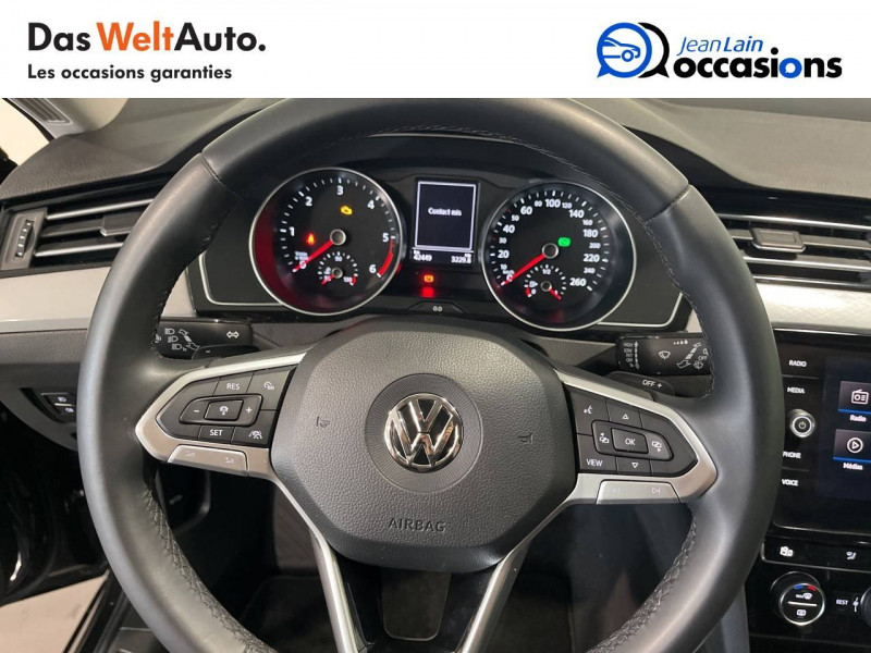 Volkswagen Passat VII Passat SW 1.6 TDI 120 DSG7 Business 5p Gris occasion à Cessy - photo n°12