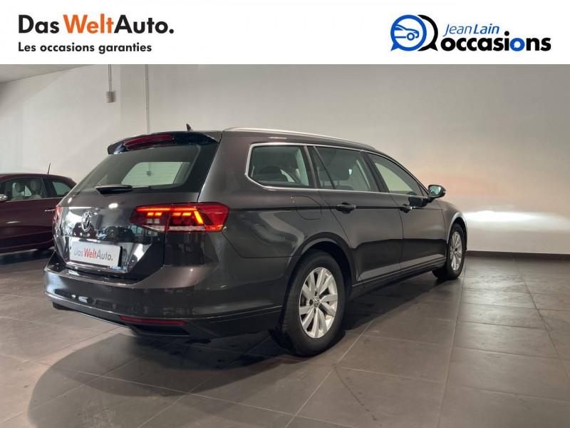 Volkswagen Passat VII Passat SW 1.6 TDI 120 DSG7 Business 5p Gris occasion à Cessy - photo n°5