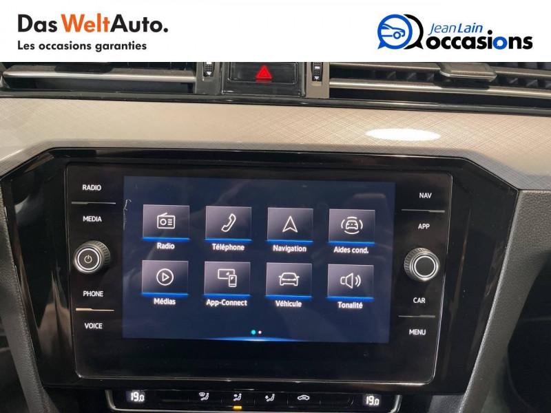 Volkswagen Passat VII Passat SW 1.6 TDI 120 DSG7 Business 5p Gris occasion à Cessy - photo n°16