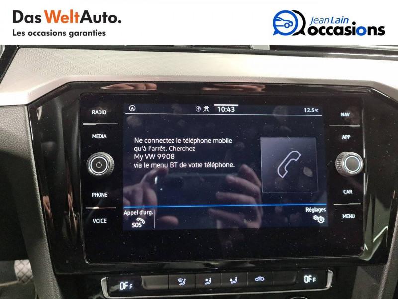 Volkswagen Passat VII Passat SW 2.0 TDI EVO 150 DSG7 Business 5p Gris occasion à La Motte-Servolex - photo n°16