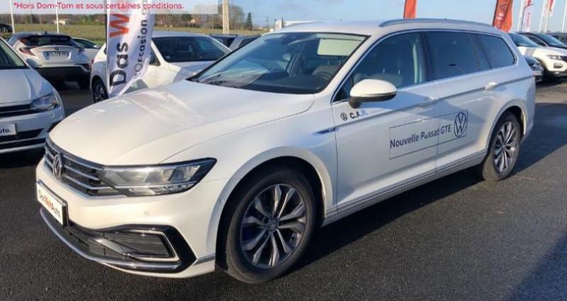 Volkswagen Passat 1.4 TSI 218ch Hybride Rechargeable GTE DSG6 Blanc occasion à La Rochelle