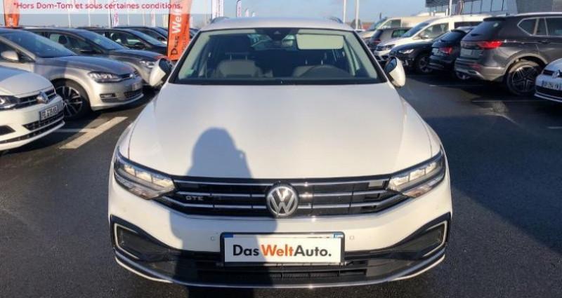 Volkswagen Passat 1.4 TSI 218ch Hybride Rechargeable GTE DSG6 Blanc occasion à La Rochelle - photo n°2
