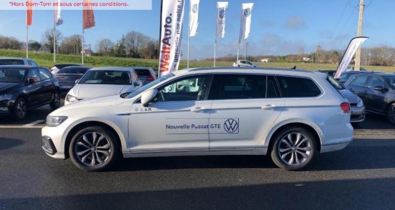 Volkswagen Passat 1.4 TSI 218ch Hybride Rechargeable GTE DSG6 Blanc occasion à La Rochelle - photo n°3