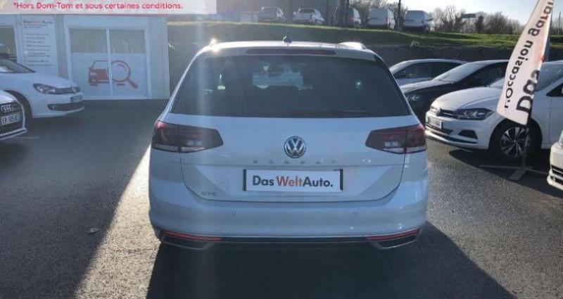 Volkswagen Passat 1.4 TSI 218ch Hybride Rechargeable GTE DSG6 Blanc occasion à La Rochelle - photo n°4