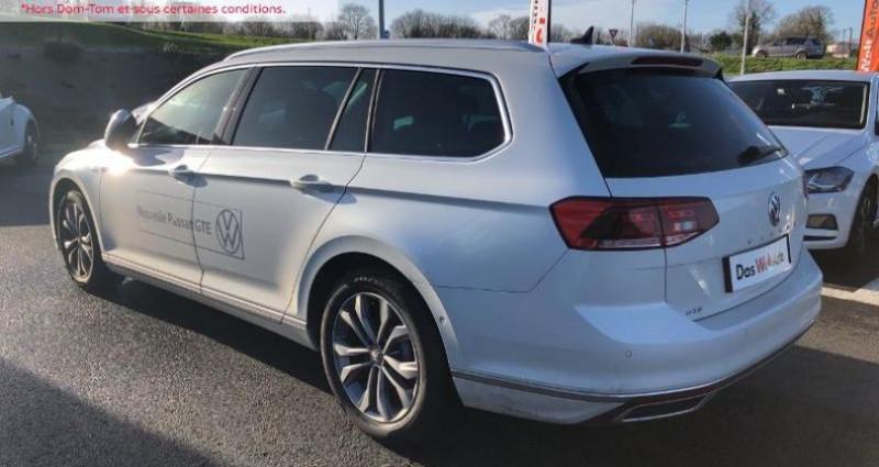 Volkswagen Passat 1.4 TSI 218ch Hybride Rechargeable GTE DSG6 Blanc occasion à La Rochelle - photo n°5
