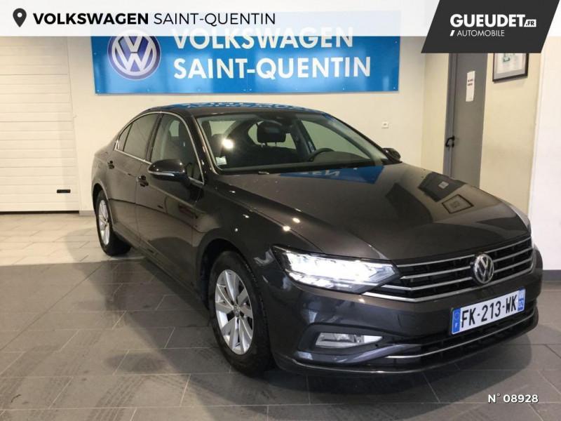 Volkswagen Passat 2.0 TDI EVO 150ch Business DSG7 Gris occasion à Saint-Quentin