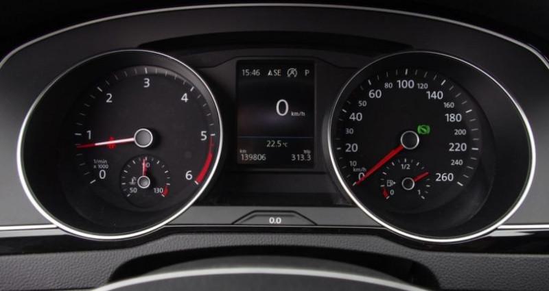 Volkswagen Passat VIII 1.6 TDI 120 BLUEMOTION TECHNOLOGY CARAT DSG7 Noir occasion à Chambourcy - photo n°5
