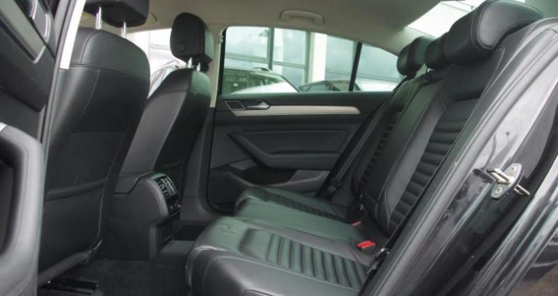 Volkswagen Passat VIII 1.6 TDI 120 BLUEMOTION TECHNOLOGY CARAT DSG7 Noir occasion à Chambourcy - photo n°4