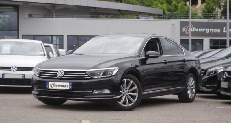Volkswagen Passat VIII 1.6 TDI 120 BLUEMOTION TECHNOLOGY CARAT DSG7 Noir occasion à Chambourcy