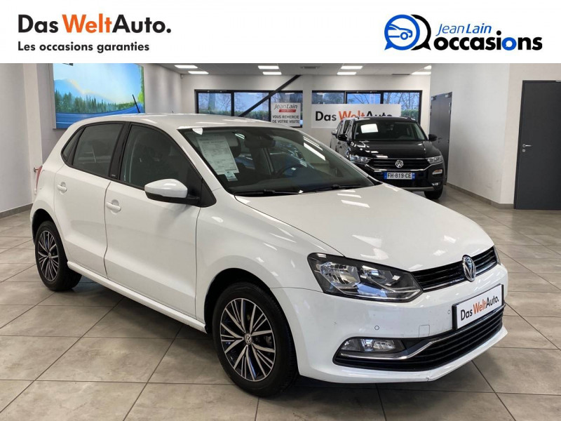 Volkswagen Polo V Polo 1.0 60 Match 5p Blanc occasion à Cessy - photo n°3