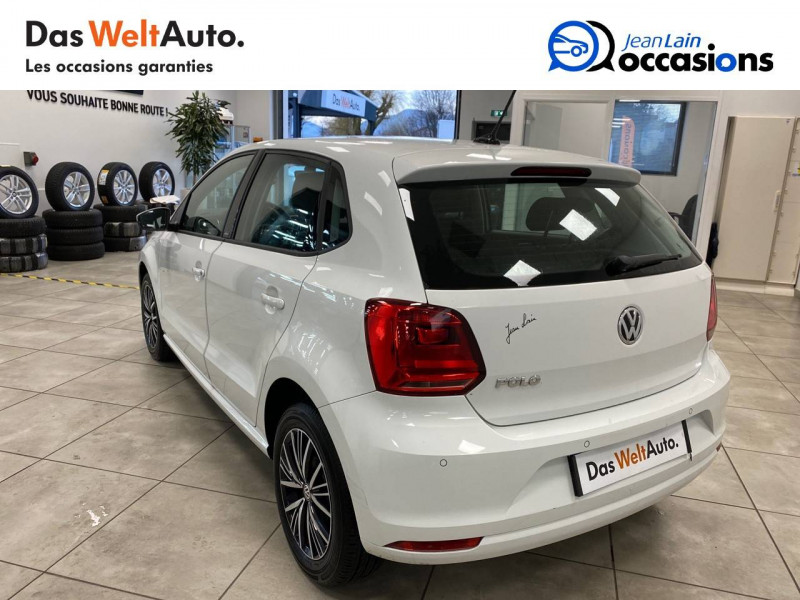 Volkswagen Polo V Polo 1.0 60 Match 5p Blanc occasion à Cessy - photo n°7