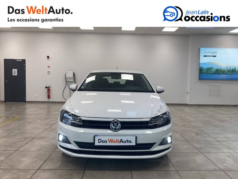 Volkswagen Polo VI Polo 1.0 65 S&S BVM5 Trendline 5p Blanc occasion à Voiron - photo n°2