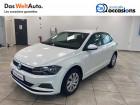 Volkswagen Polo VI Polo 1.0 65 S&S BVM5 Trendline 5p Blanc à Voiron 38