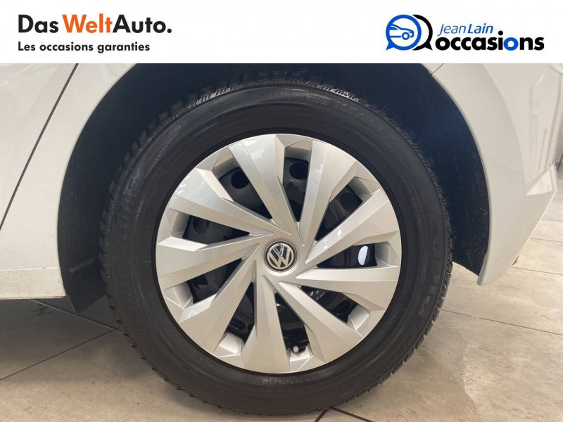 Volkswagen Polo VI Polo 1.0 65 S&S BVM5 Trendline 5p Blanc occasion à Voiron - photo n°9