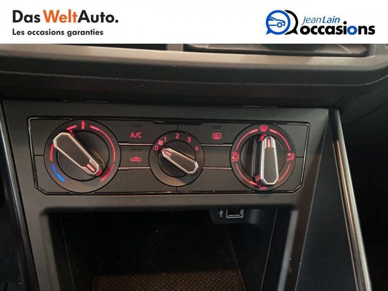 Volkswagen Polo VI Polo 1.0 65 S&S BVM5 Trendline 5p Blanc occasion à Voiron - photo n°14