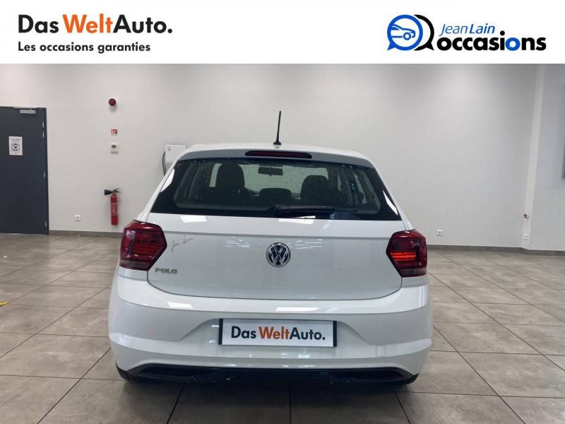 Volkswagen Polo VI Polo 1.0 65 S&S BVM5 Trendline 5p Blanc occasion à Voiron - photo n°6