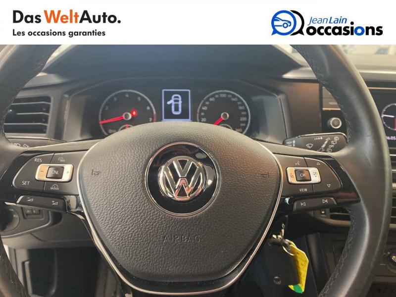 Volkswagen Polo VI Polo 1.0 65 S&S BVM5 Trendline 5p Blanc occasion à Voiron - photo n°12