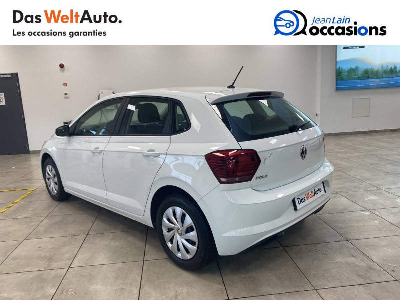 Volkswagen Polo VI Polo 1.0 65 S&S BVM5 Trendline 5p Blanc occasion à Voiron - photo n°7