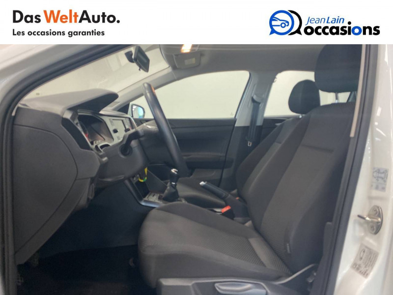 Volkswagen Polo VI Polo 1.0 65 S&S BVM5 Trendline 5p Blanc occasion à Voiron - photo n°11