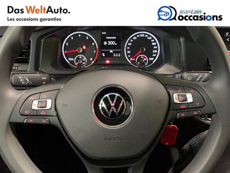 Volkswagen Polo VI Polo 1.0 TSI 95 S&S BVM5  5p Noir occasion à Seynod - photo n°12