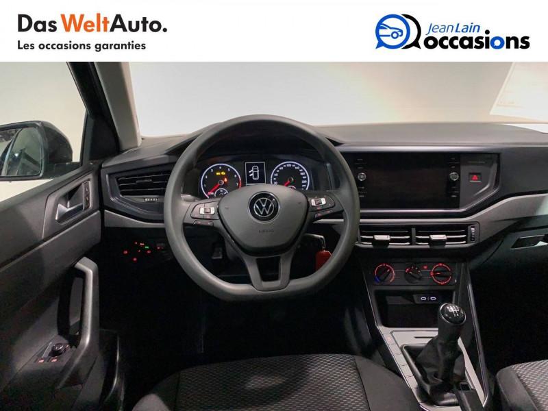 Volkswagen Polo VI Polo 1.0 TSI 95 S&S BVM5  5p Noir occasion à Seynod - photo n°11