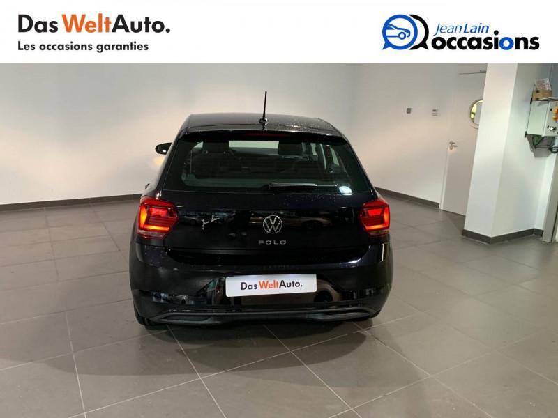 Volkswagen Polo VI Polo 1.0 TSI 95 S&S BVM5  5p Noir occasion à Seynod - photo n°6