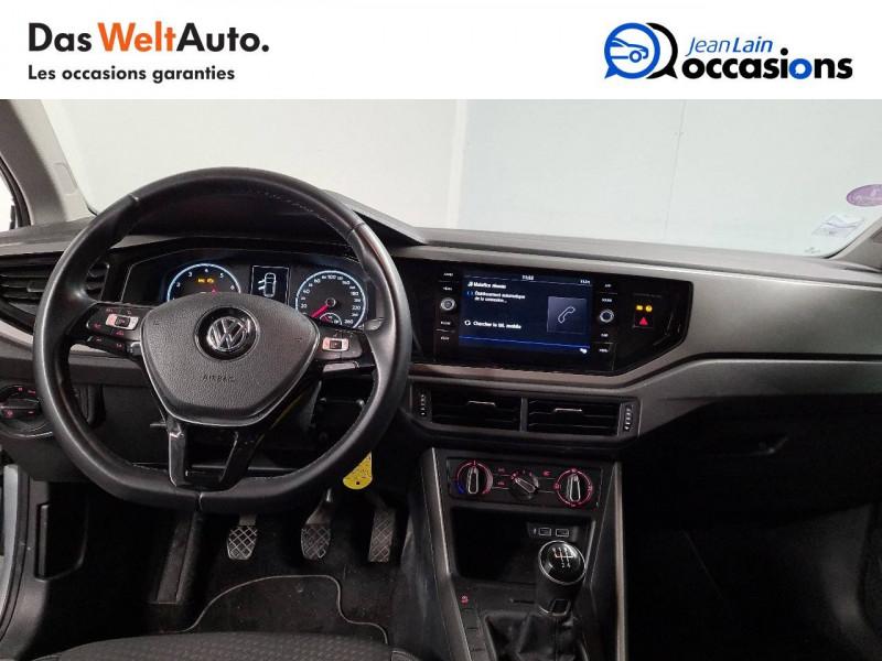 Volkswagen Polo VI Polo 1.0 TSI 95 S&S BVM5 Confortline 5p Gris occasion à La Motte-Servolex - photo n°18