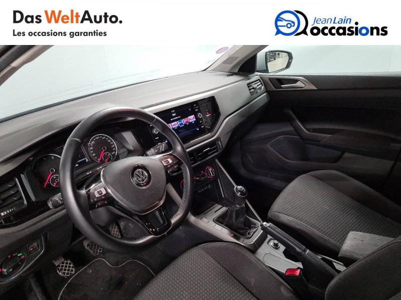 Volkswagen Polo VI Polo 1.0 TSI 95 S&S BVM5 Confortline 5p Gris occasion à La Motte-Servolex - photo n°11