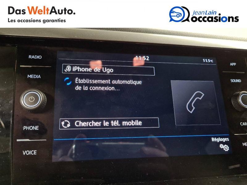 Volkswagen Polo VI Polo 1.0 TSI 95 S&S BVM5 Confortline 5p Gris occasion à La Motte-Servolex - photo n°16