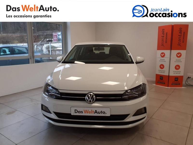 Volkswagen Polo VI Polo 1.0 TSI 95 S&S BVM5 Trendline 5p Blanc occasion à Voiron - photo n°2