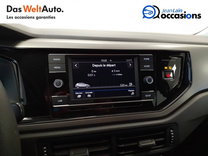 Volkswagen Polo VI Polo 1.0 TSI 95 S&S BVM5 Trendline 5p Blanc occasion à Voiron - photo n°15