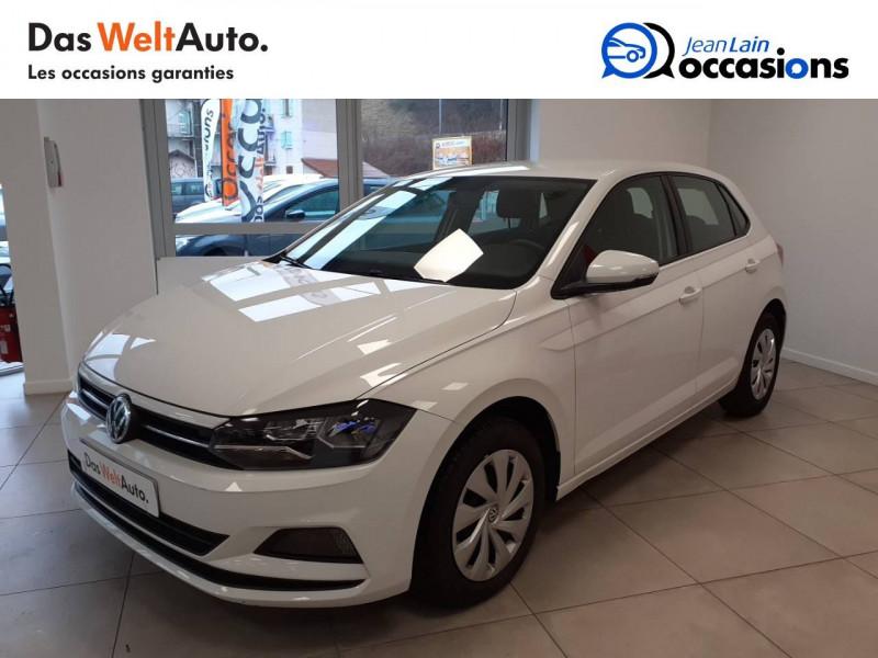 Volkswagen Polo VI Polo 1.0 TSI 95 S&S BVM5 Trendline 5p Blanc occasion à Voiron