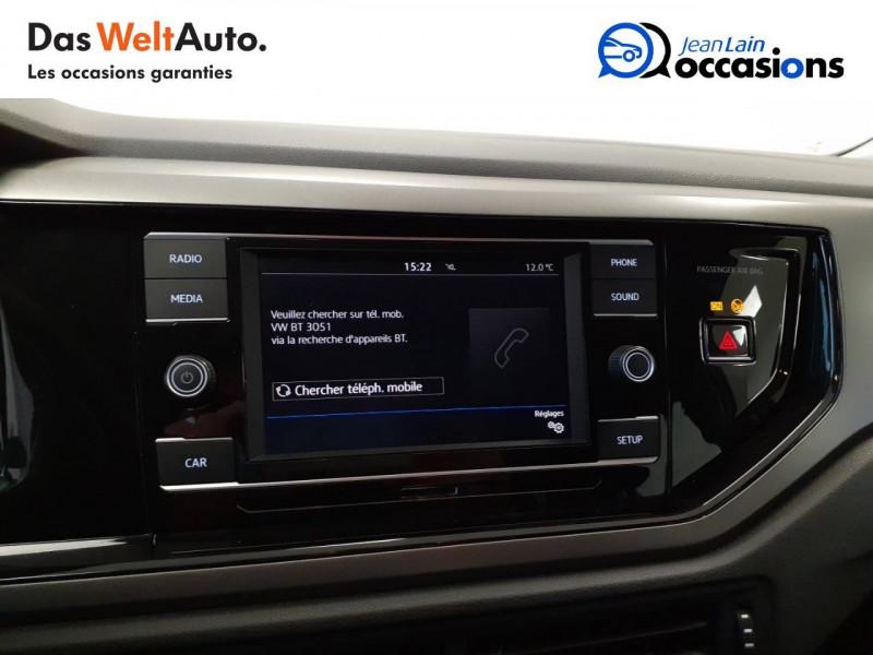 Volkswagen Polo VI Polo 1.0 TSI 95 S&S BVM5 Trendline 5p Blanc occasion à Voiron - photo n°16