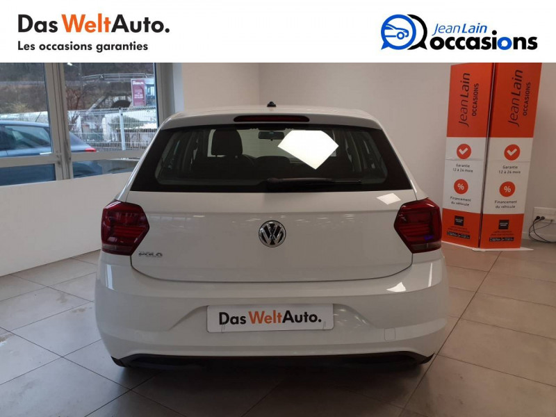 Volkswagen Polo VI Polo 1.0 TSI 95 S&S BVM5 Trendline 5p Blanc occasion à Voiron - photo n°6