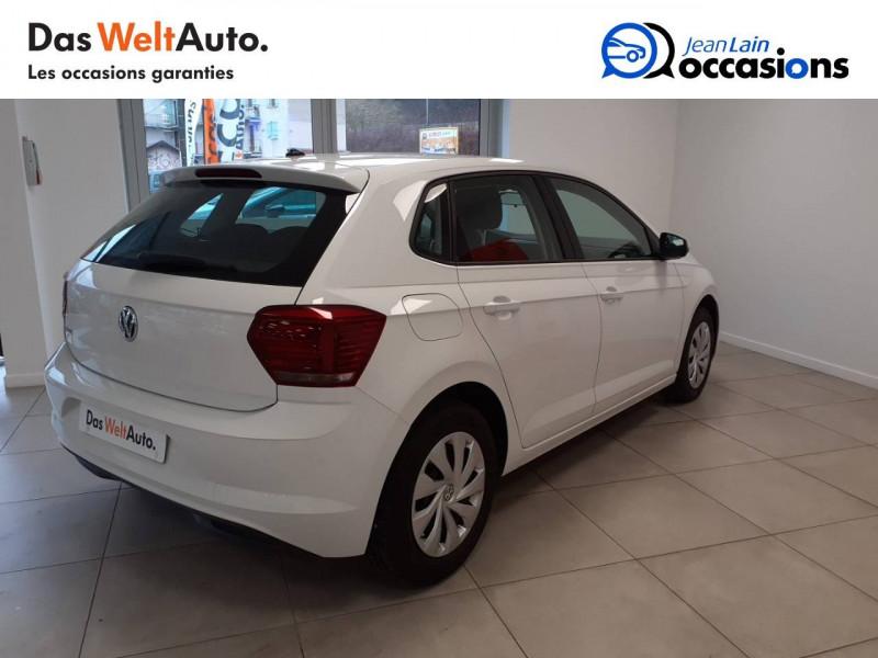 Volkswagen Polo VI Polo 1.0 TSI 95 S&S BVM5 Trendline 5p Blanc occasion à Voiron - photo n°5