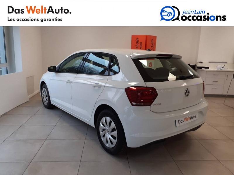 Volkswagen Polo VI Polo 1.0 TSI 95 S&S BVM5 Trendline 5p Blanc occasion à Voiron - photo n°7