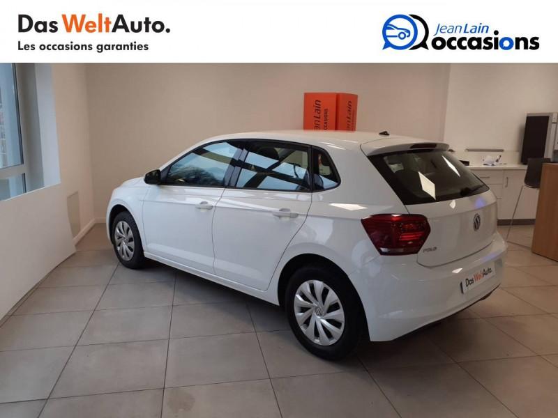 Volkswagen Polo VI Polo 1.0 TSI 95 S&S BVM5 Trendline 5p Blanc occasion à Voiron - photo n°8