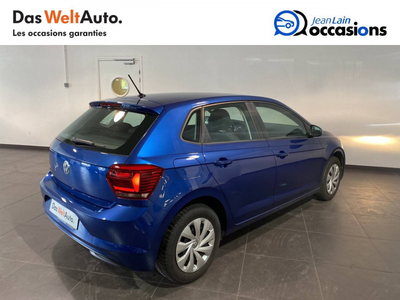 Volkswagen Polo VI Polo 1.0 TSI 95 S&S BVM5 Trendline 5p Bleu occasion à Meythet - photo n°5
