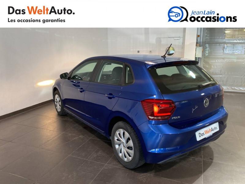 Volkswagen Polo VI Polo 1.0 TSI 95 S&S BVM5 Trendline 5p Bleu occasion à Meythet - photo n°7